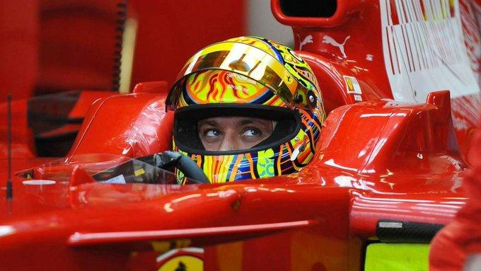 Happy Birthday Valentino Rossi!    (Ferrari F2004/F2005/F2008)