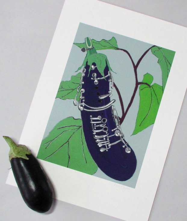 #Aubergine #Clarinet will be at my next #Pantilesmarket on 4 March   https:// folksy.com/items/6808464  &nbsp;   #Foodie #musiclovers<br>http://pic.twitter.com/eZYNMaXhNI
