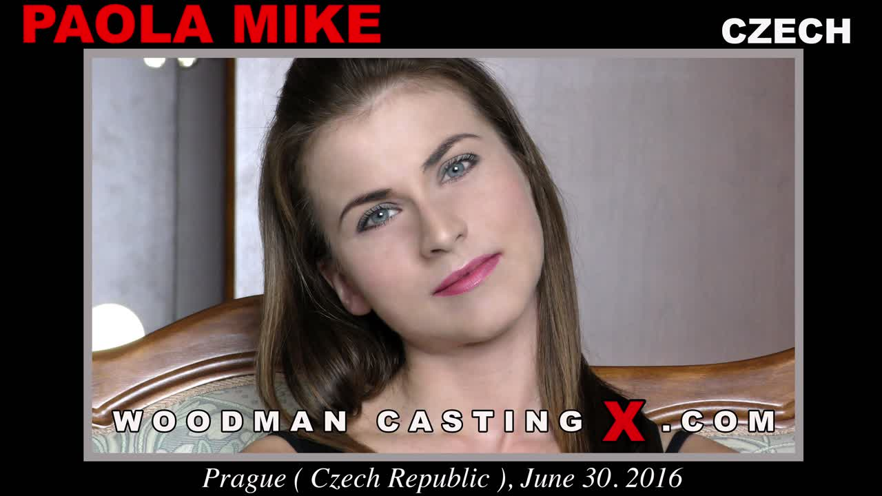 Woodman Casting X on Twitter: [New Video] Paola Mike