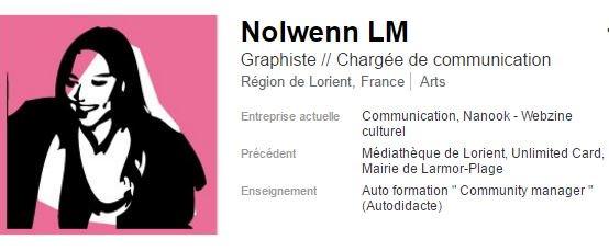 #PleaseRT Recherche #emploi de #graphiste / chargée de #communication près de #Lorient #i4emploi #i4EmploiR #CM  https://www. linkedin.com/in/nolwennlm  &nbsp;  <br>http://pic.twitter.com/SikVkh2EUS