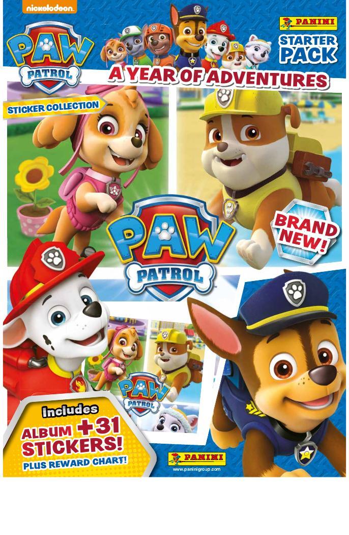 PANINI-Paw Patrol-Sticker 122