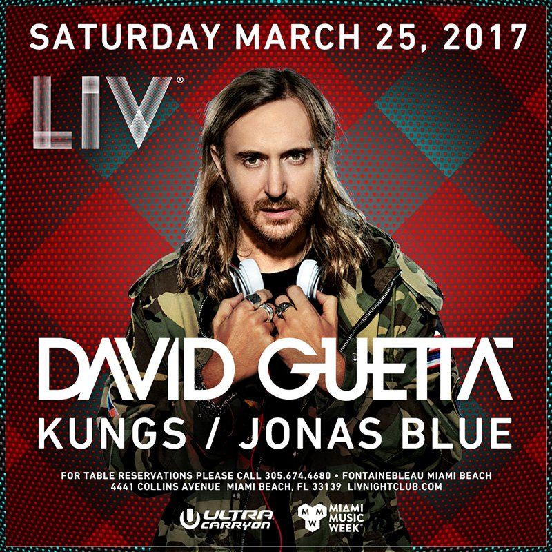 Cannot wait to hit @LIVmiami with @davidguetta & @KungsMusic on March 25th 🎉