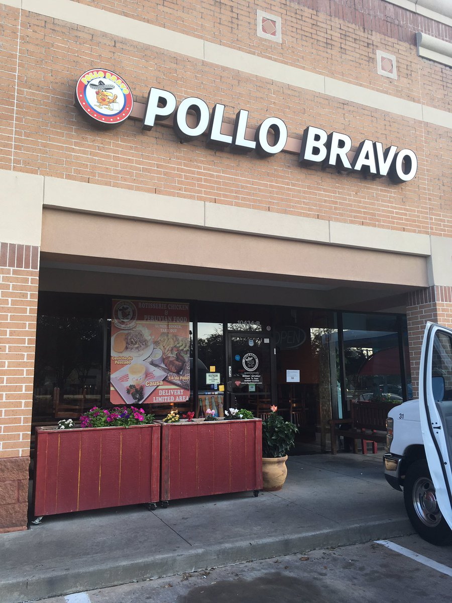 We found a restaurant in Houston closed today for #ADayWithoutImmigrants protest, Pollo Bravo off Richmond. #KHOU11