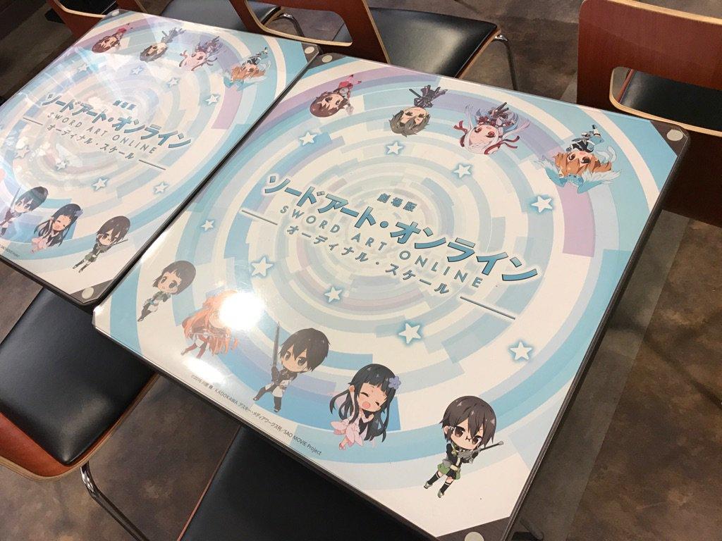 【セガコラボカフェスタート】 2/18(土)より劇場版SAOセガコラボカフェがスタートします! 一足…
