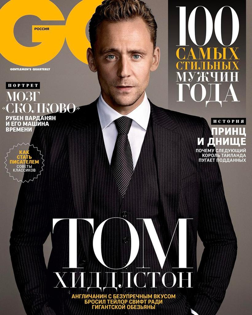 Tom Hiddleston for GQ Russia - March 2017 #TomHiddleston #GQ https://t...