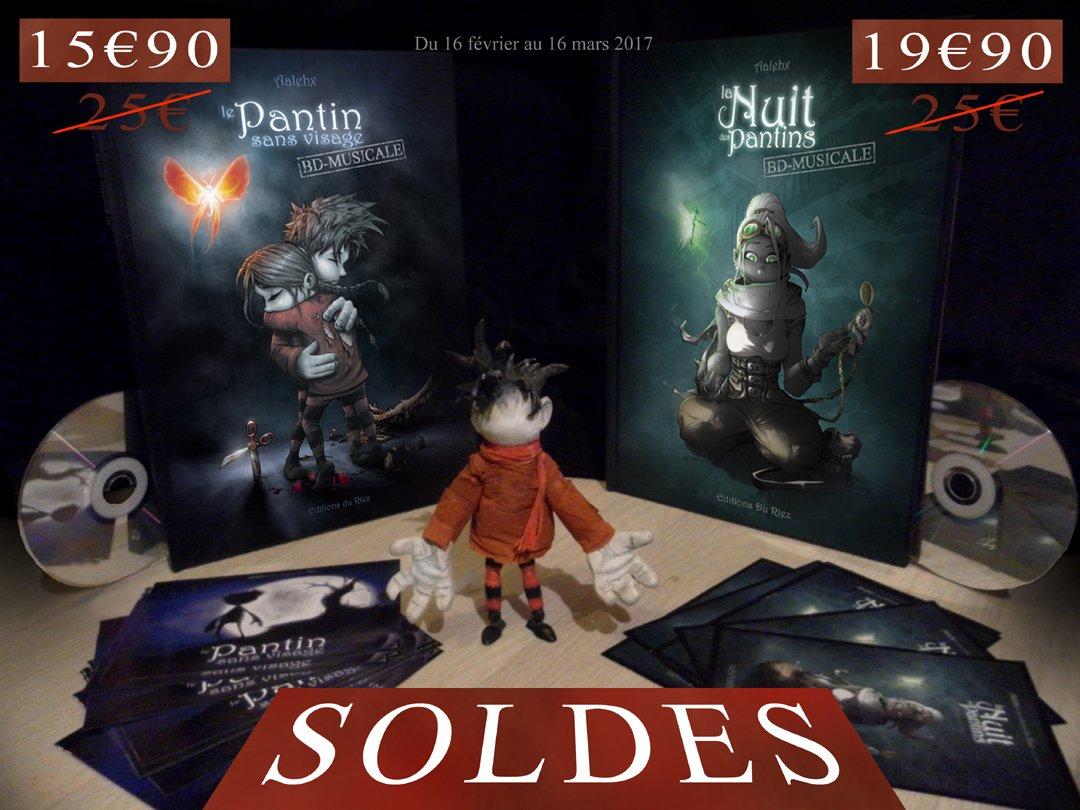 1 mois à ne pas manquer sur  http://www. editionsduriez.fr  &nbsp;   ! #soldes #Soldes2017 #promo #reduction #livres #musique #BD #pantin #Robot #VenteFlash <br>http://pic.twitter.com/abDG3LXJpE