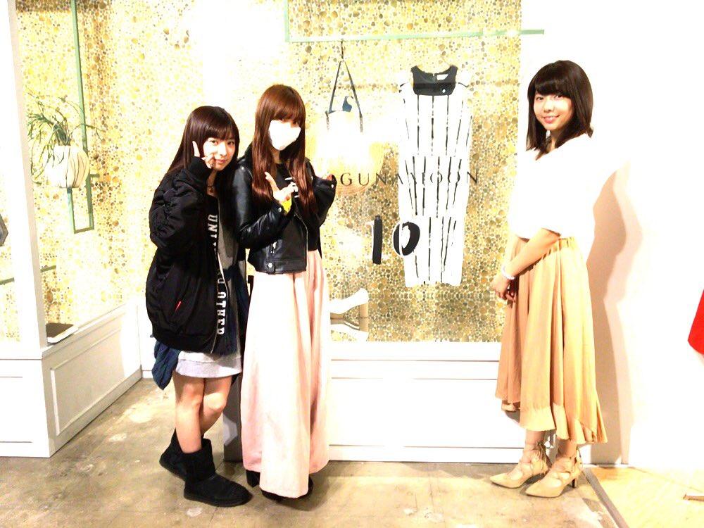 今日は、まりこさんと 展示会にも行ってきたよ(`・∀・´)  トムも途中から一緒に💗  可愛いお洋服…