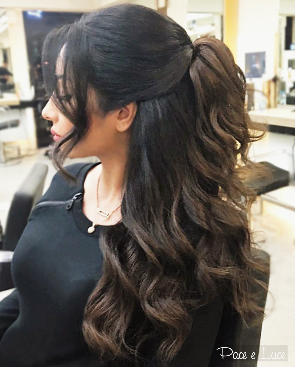 Pace E Luce Official On Twitter Half Updo Waves Hair