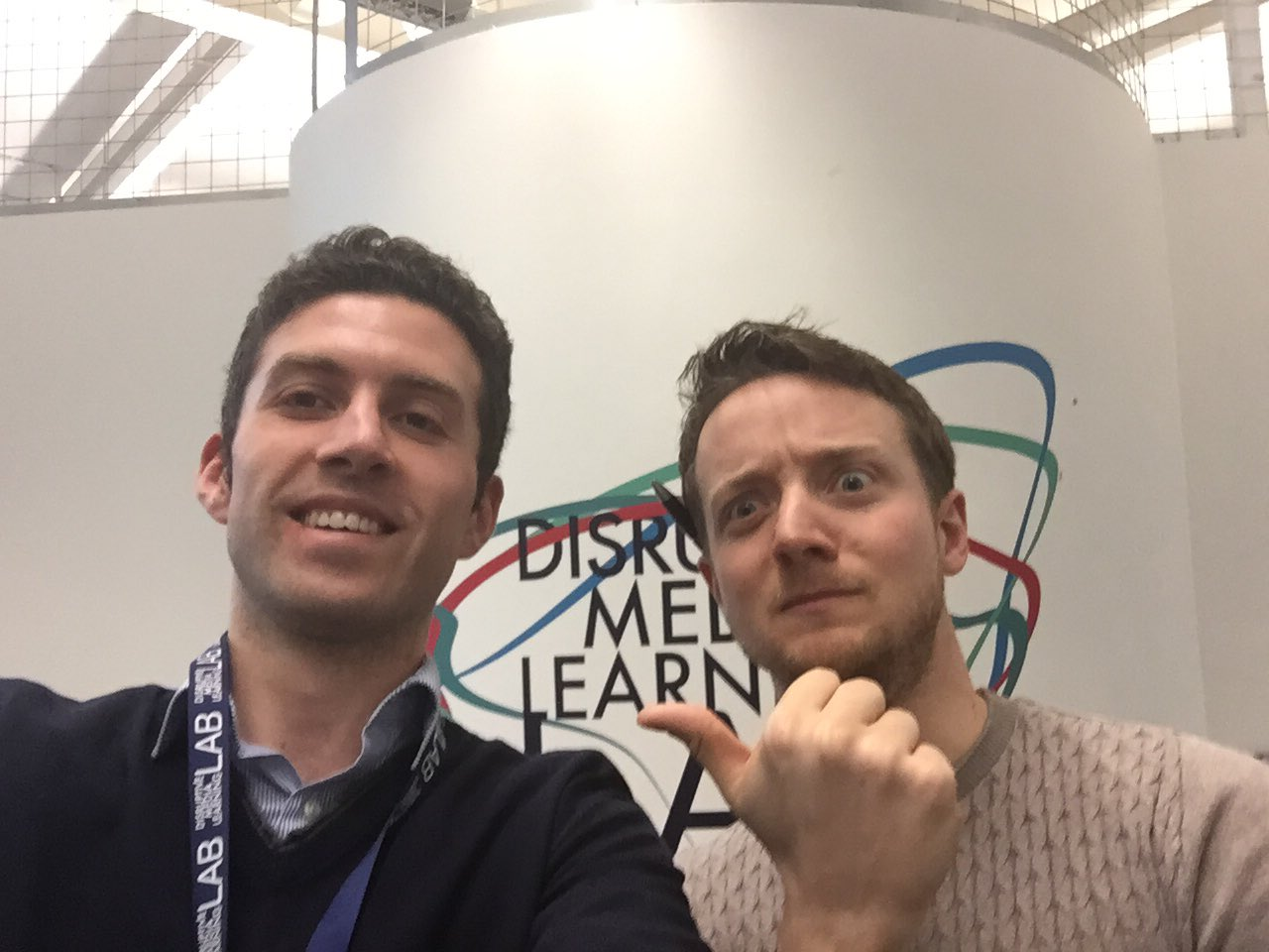 Great to finally meet former @SussexTEL team member @DurchTechNick at #PlayRemixed @disrupt_learn @sallyburruk https://t.co/WMzaHZiiJO