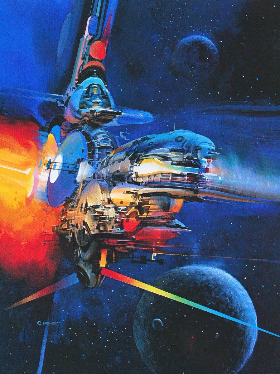 Scifi Art On Twitter The Amazing Art Of John Berkey Most Of These