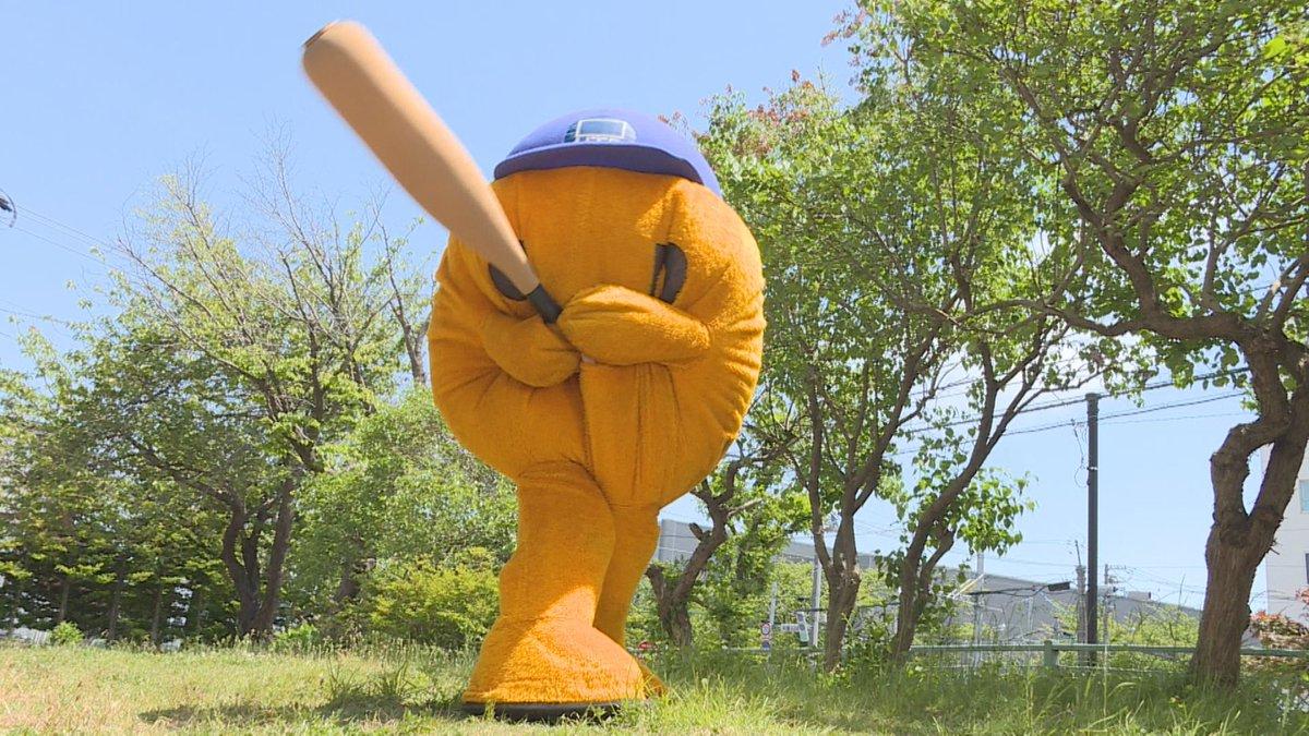 右投げ左打ち。野球が得意なフレンズなんだね!  #こんなフレンズなんだね