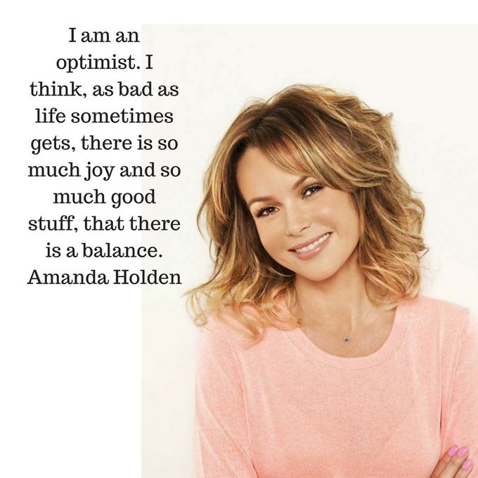 Happy Birthday Amanda Holden, 46 today. We love an optimist!