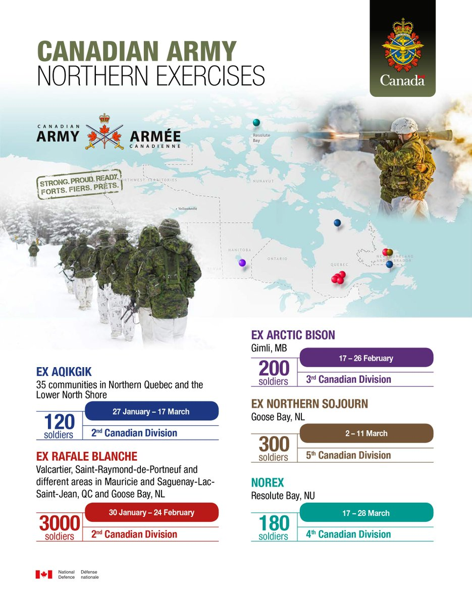 Canadian #Army #Northern Exercises #StrongProudReady #WellTrained<br>http://pic.twitter.com/uK1VMRX13A