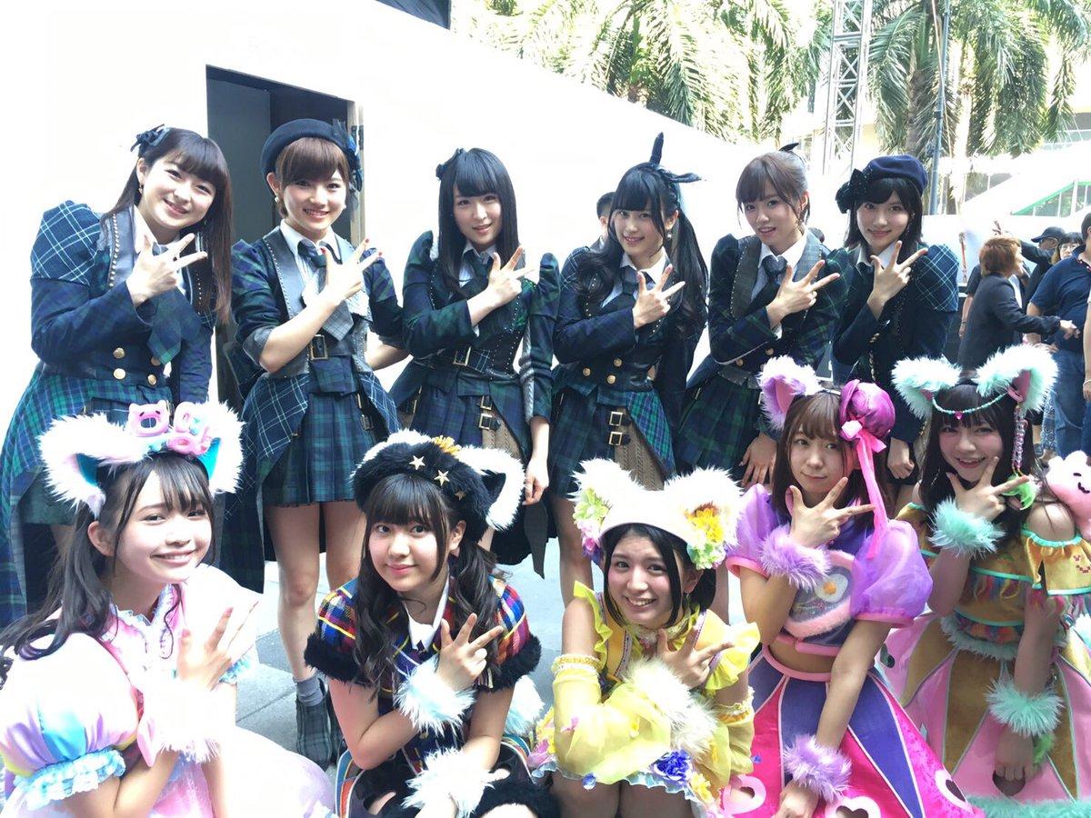 AKB48さん( ・ ̫・ ) 可愛かったな〜かよよんさん久しぶりにお会いできたの胸熱だった。ガン見…