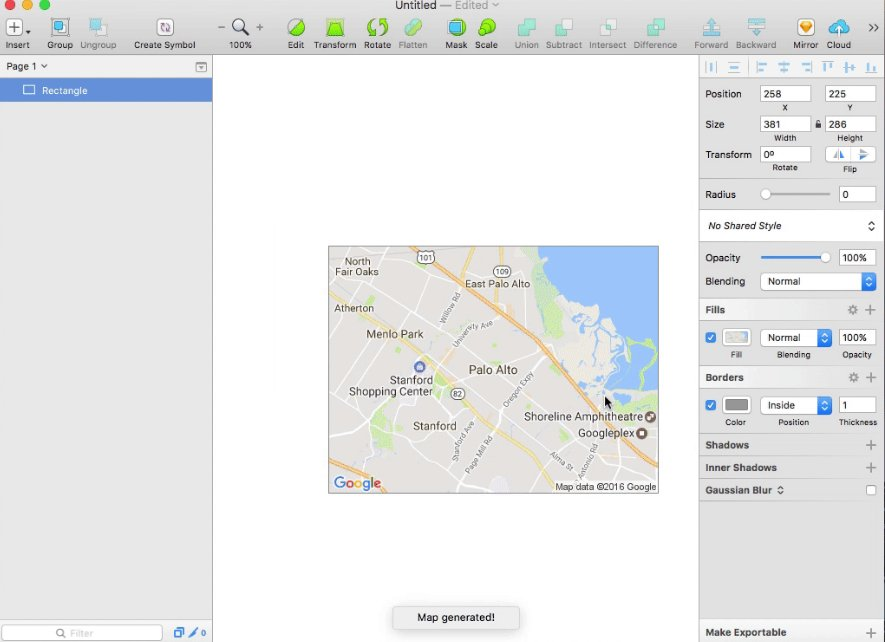 Sketch Tricks On Twitter Map Generator Will Fill A Layer With A - Location map generator