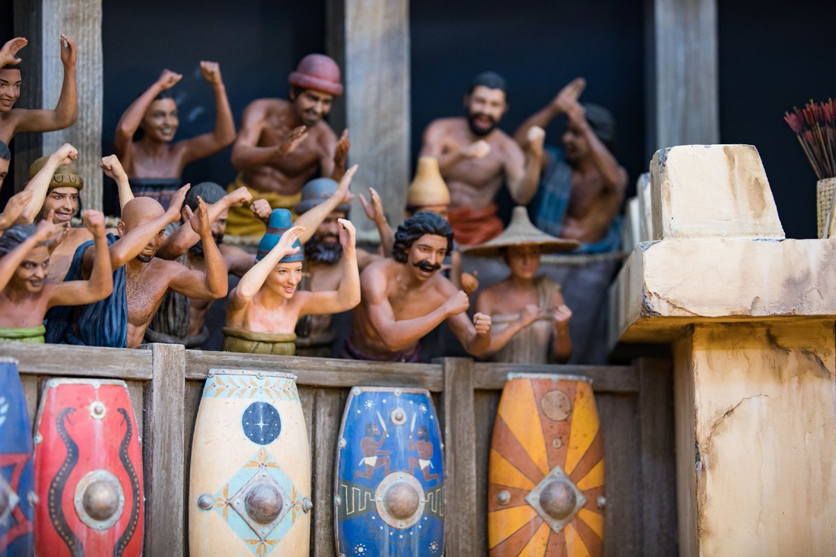 Creationist Ken Ham's Giant 'Noah's Ark' To Feature Dinosaurs vs. Giants Diorama