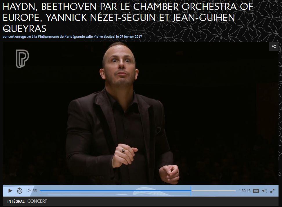 Replay :@ChambOrchEurope à la @philharmonie de Paris - mais qu&#39;est-ce que @nezetseguin a-t-il bien pu voir !? #scary  http:// live.philharmoniedeparis.fr/concert/106270 2/haydn-beethoven-par-le-chamber-orchestra-of-europe.html &nbsp; … <br>http://pic.twitter.com/gTNxEh4i6d