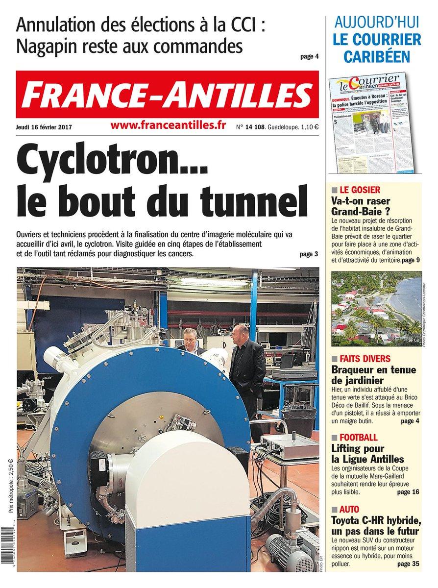 Aujourd&#39;hui à la #Une de votre quotidien en #Guadeloupe :<br>http://pic.twitter.com/SWBntFhJFV