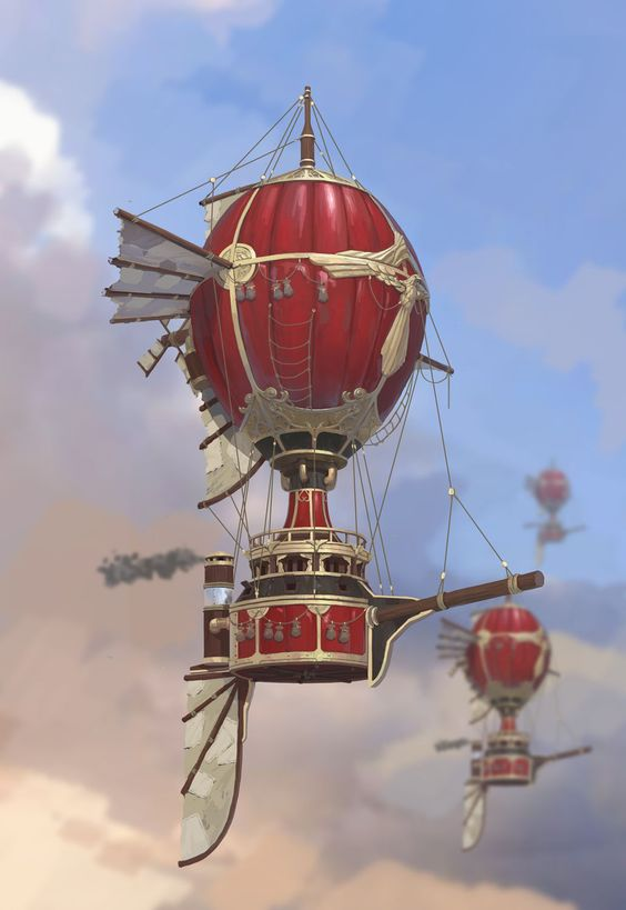 I'm sure Kong would like to dive off this #SteamPunk air balloon in Divin Kong. https://t.co/5DgT6F2e64 #divinkong #indiedev #indiegame #ios