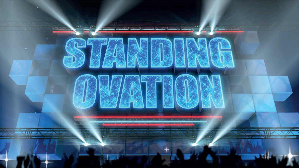 LIVEBLOGGING 17 FEBBRAIO 2017 STANDING OVATION CON ANTONELLA CLERICI