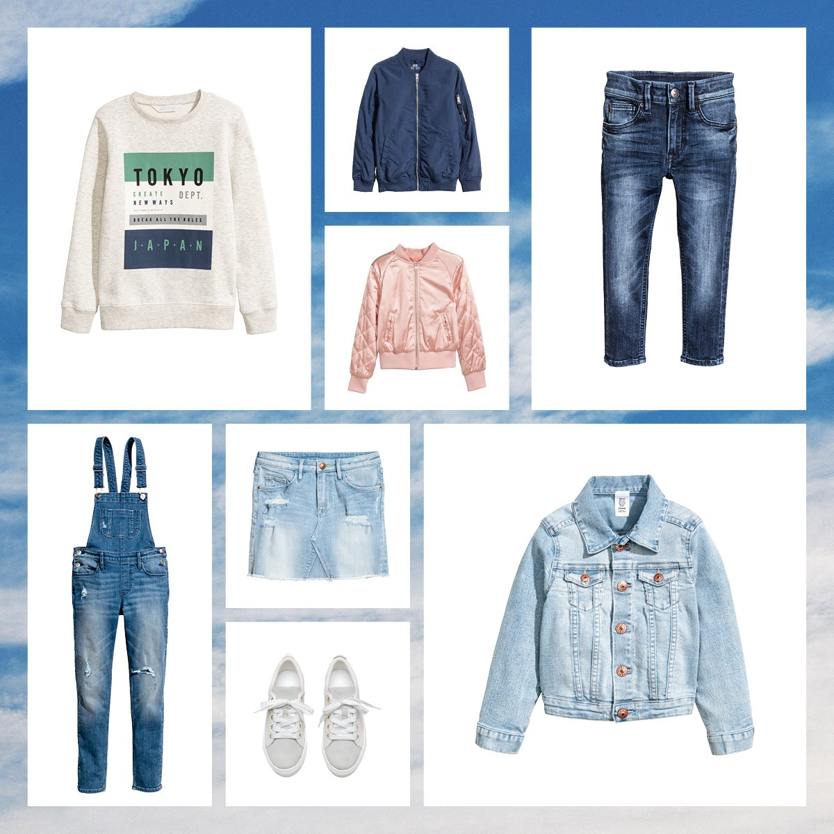 Charming prints, soft denim and pretty pastels are perfect for spring adventures!  http:// hm.info/17e8x  &nbsp;   #HMDenim #HMKids <br>http://pic.twitter.com/CRPf9oFzzz
