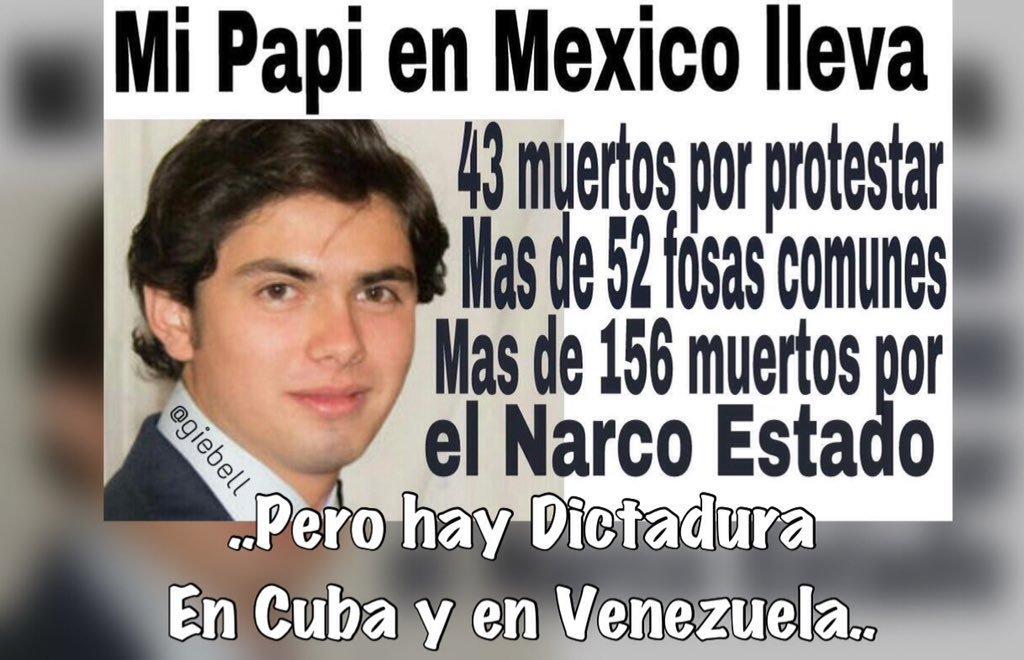 MI PAPI EN MÉXICO LLEVA 43 MUERTOS POR PROTESTAR,MAS DE 52 FOSAS COMUN...