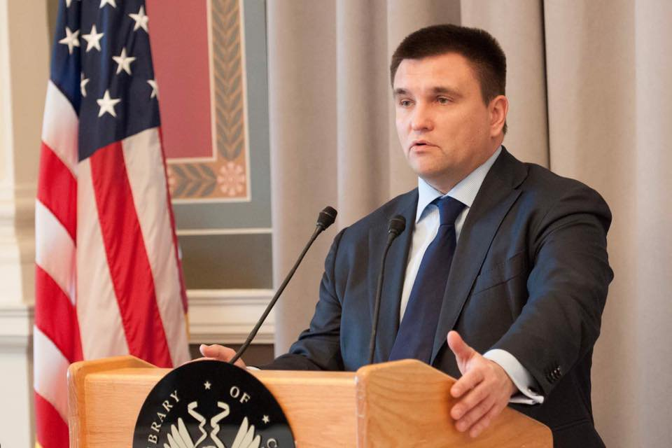 Minister of Foreign Affairs of Ukraine @PavloKlimkin opened the VIII Security Forum in Washington