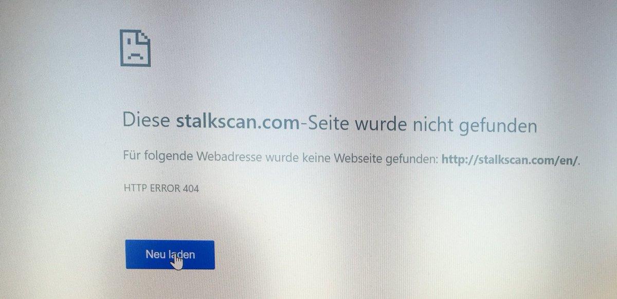 stalkscan hashtag on Twitter