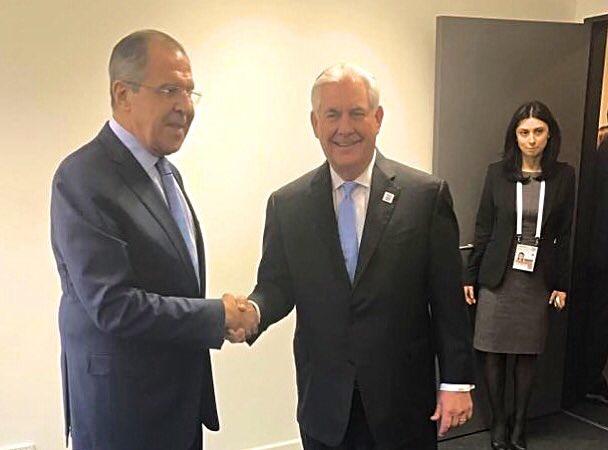 Tillerson-Lavrov meeting in Bonn