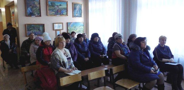 Встреча руководителей МО Каменецкое с жителями п.Краснолесский