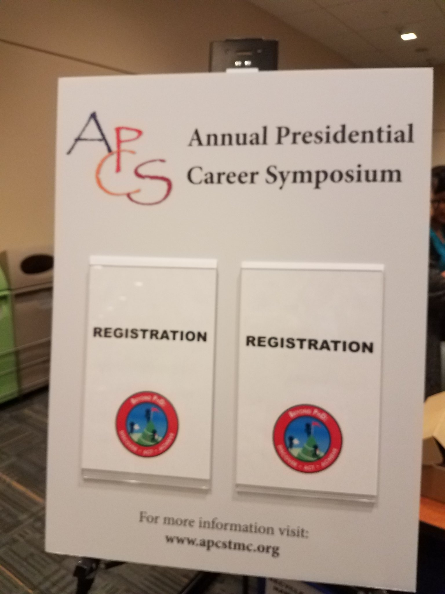 @tmcapcs @RakeshPerani 6th Annual Presidential Career Symposium! #apcs2017 https://t.co/RNgWRW7Mco