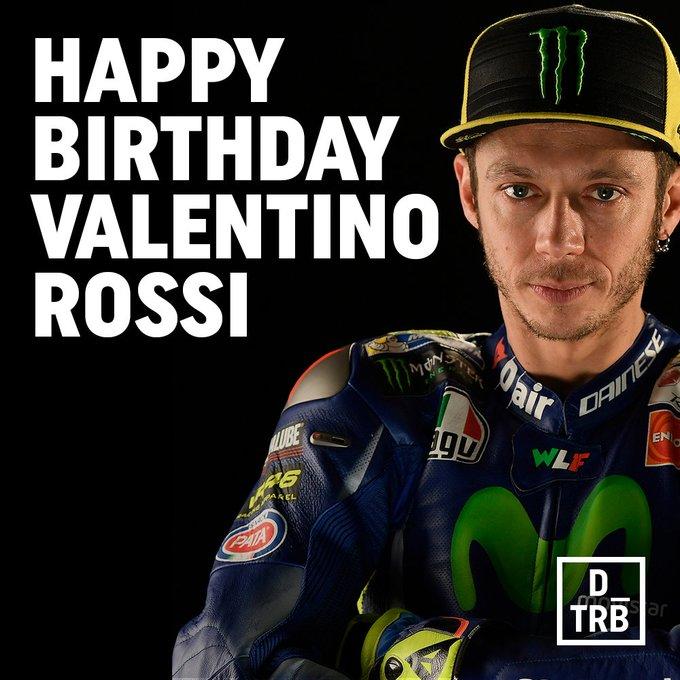Happy Birthday to the MotoGP legend Valentino Rossi.