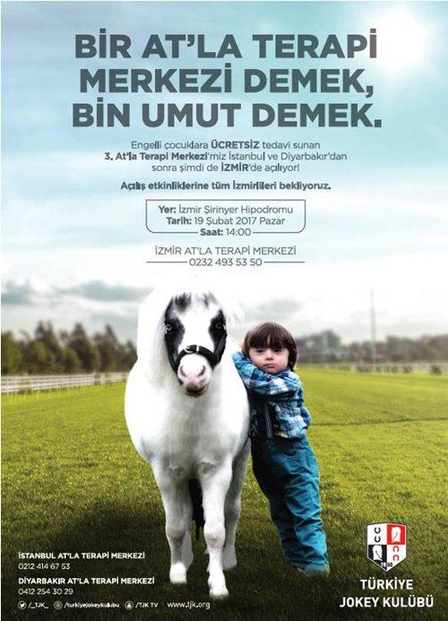 At'la Terapi Merkezi İzmir'de açılıyor
