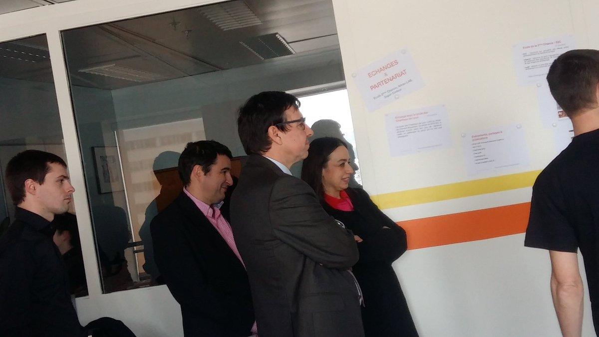 Inauguration de la #code-room DSI Lyon en présence de @Barre_Jerome et @ValerieTherond  Fierté <br>http://pic.twitter.com/8PyiZRGkRp