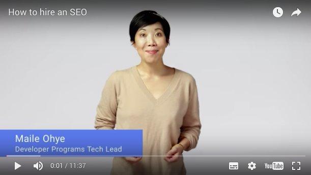 Les conseils de #google pour bien choisir son agence #seo #referencement #webmarketing #ROI  https://www. youtube.com/watch?v=piSvFx V_M04 &nbsp; … <br>http://pic.twitter.com/vWnfqy8Wlx