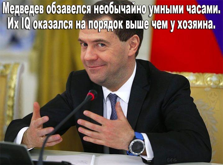 """""""Всем большой арктический привет. Ставьте себе будильник в разные места"""", - Медведев на заседании правительства РФ - Цензор.НЕТ 56"""