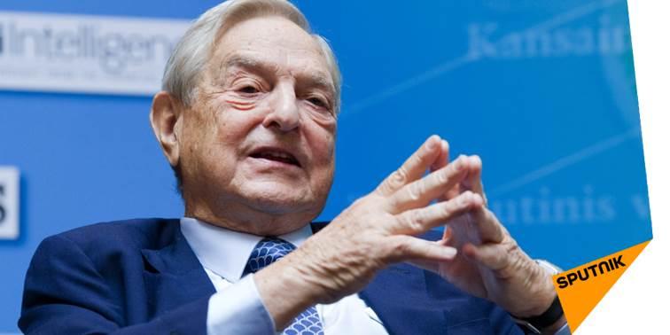 Une pétition appelle à expulser #Soros des #ÉtatsUnis  http:// sptnkne.ws/d88v  &nbsp;  <br>http://pic.twitter.com/fcGGr1nzzn