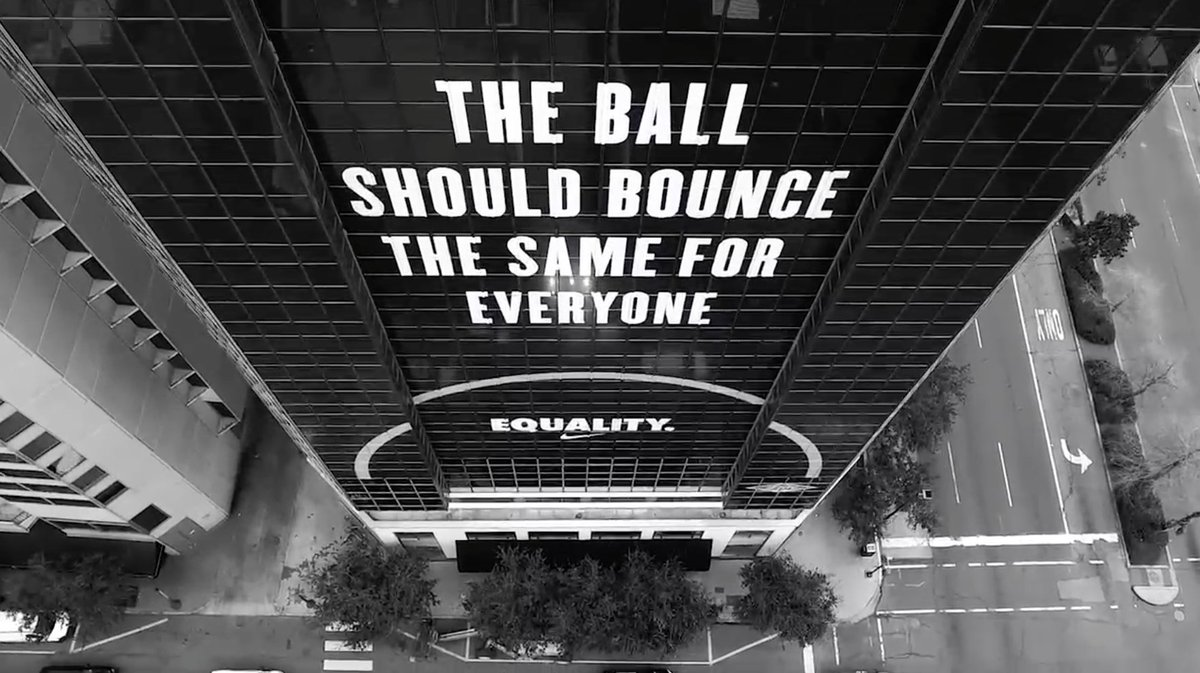nike on twitter quotwe step onto the court as equals new
