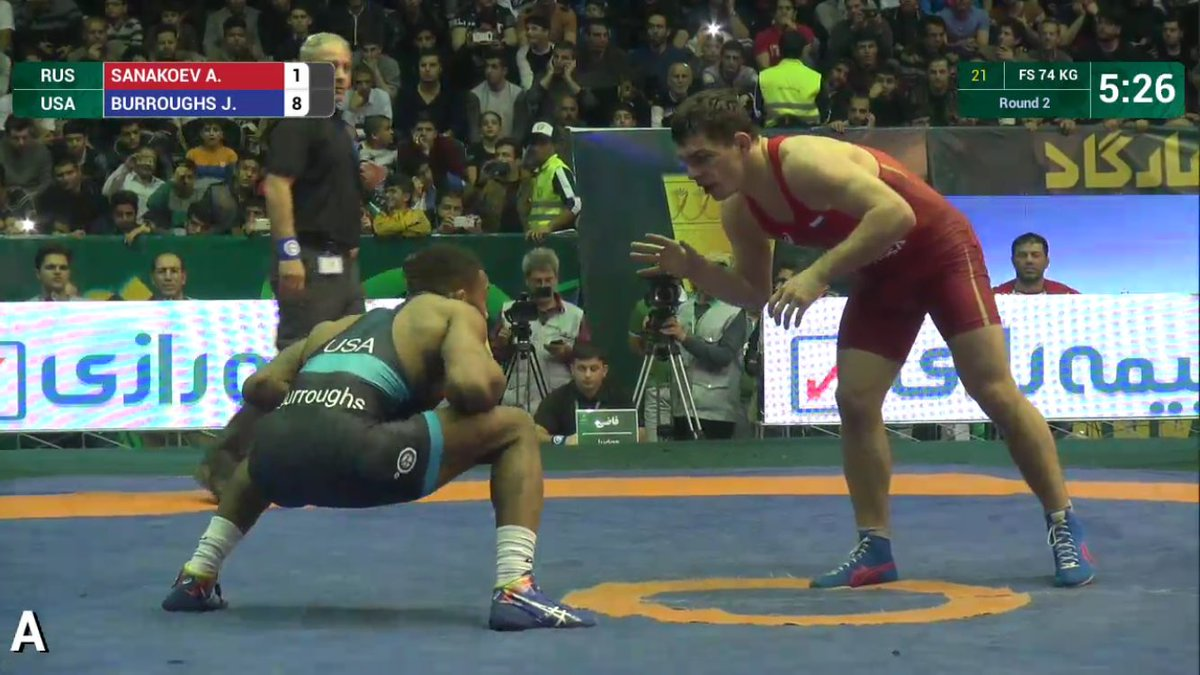 Dominant win by @alliseeisgold vs Russia at the #WorldCup2017 in #Iran. @USAWrestling https://t.co/VEpVNJTFpA