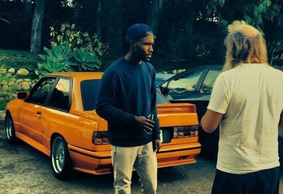 The bmw e30 m3 on the cover of nostalgia ultra is frank - Frank ocean bmw e30 ...