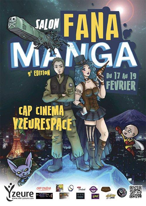 #Yzeure se prépare à la déferlante #Manga. #Geek de tous horizons : RDV nombreux ! #Allier #Marvelcomics #cosplay  http://www. ville-yzeure.com / &nbsp;  <br>http://pic.twitter.com/kLvRRHA9dp