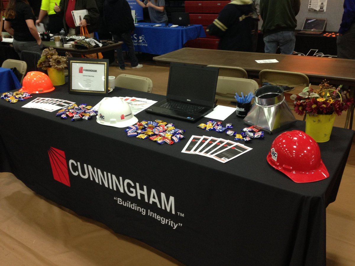 All set up at Indian Hills CC! Stop on by for more information and job opportunities. We would love to visit with you! #SoIACareerFair <br>http://pic.twitter.com/hoSLyRCy5p