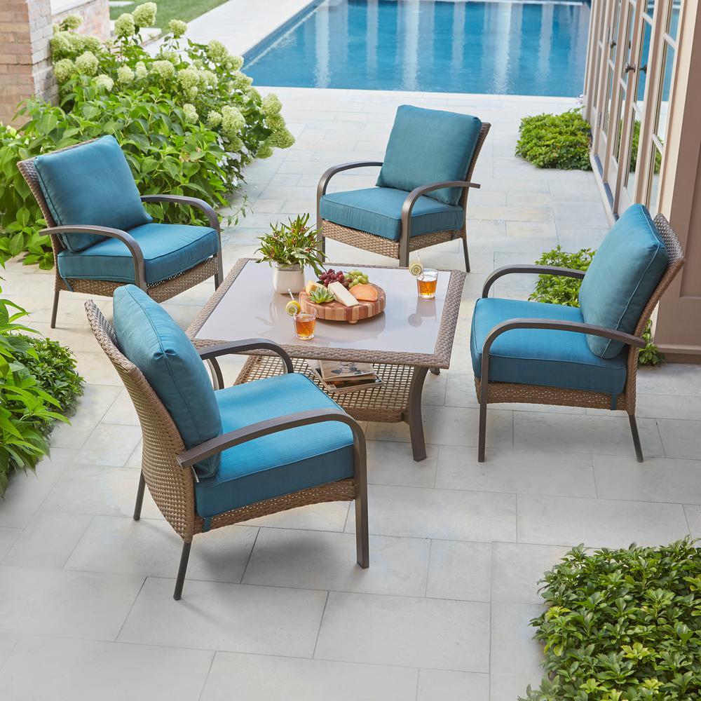Create The Perfect Patio 4u W The Wicker Corranade Collection Http Www Homedepot Com C Customize Your Collection Patio Furniture Corranade Collection