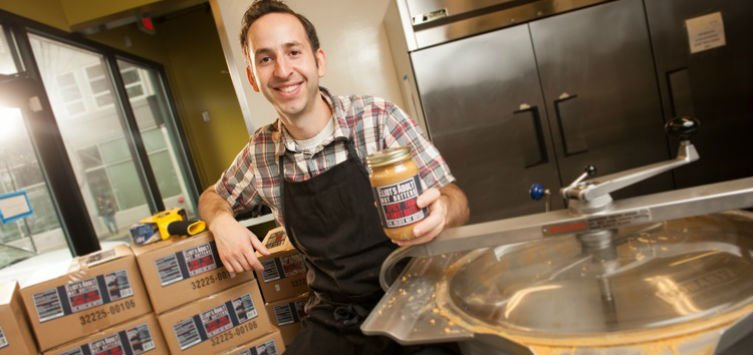 A story of bold new flavors: learn more about peanut butter #entrepren...