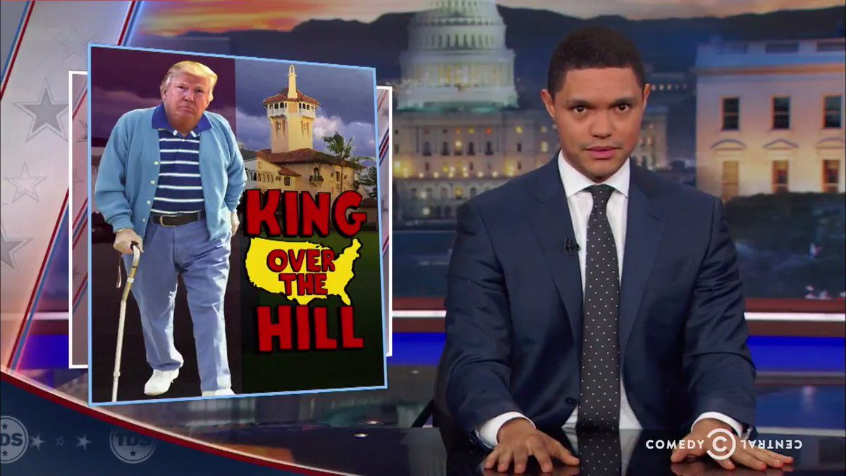 The #DailyShow floats a theory that explains Donald Trump's behavior:...