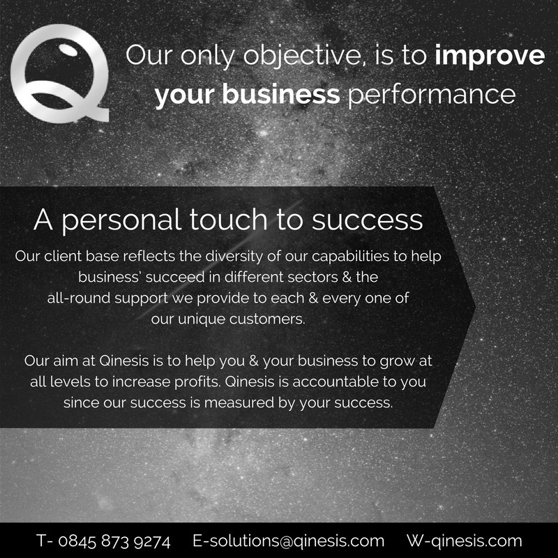 Find out how Qinesis can help you & your business qinesis.com #business #FridayFeeling