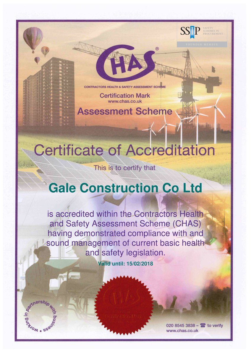 Delighted to have our #CHAS accreditation approved again for 2017! Well worth the effort #SSIP #construction #safety  http://www. chas.co.uk  &nbsp;  <br>http://pic.twitter.com/FoL9sWQ8D3