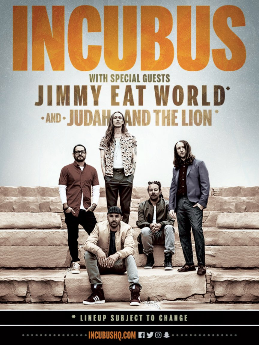 Incubus On Twitter Tour 8tour Check Our Website Incubushq