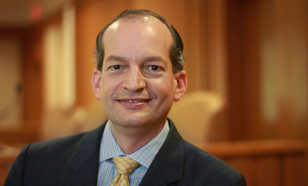 #BREAKING: .@POTUS to announce #AlexanderAcosta as New #LaborSecretary nominee. #oann #TrumpTransition <br>http://pic.twitter.com/yGjYNS3FR3