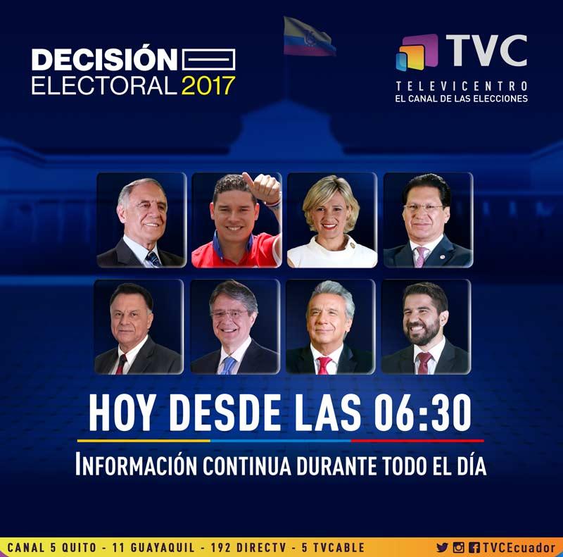Un gran domingo amigos. La jornada de #Elecciones2017 ha empezado y us...